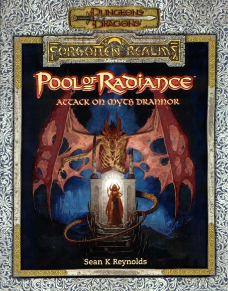 Cover of Pool of Radiance Attack on Myth Drannor
