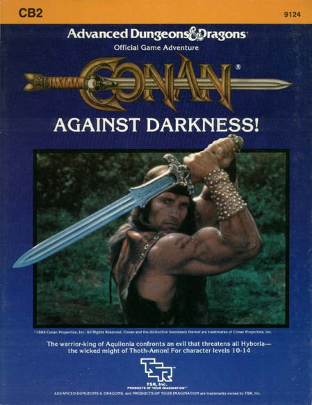 Cover of CB2 Conan Against Darkness!