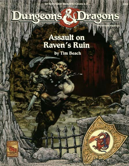 Cover of Assault on Raven's Ruin