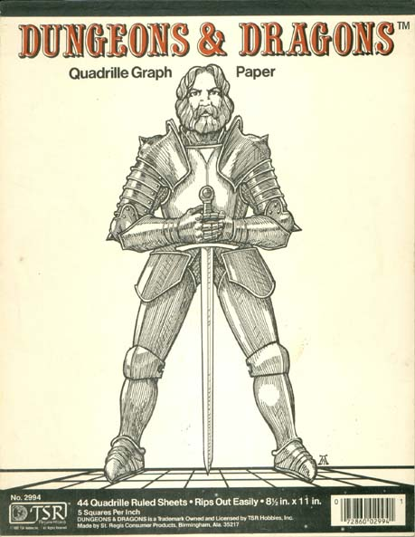 dungeons dragons archive quadrille graph paper