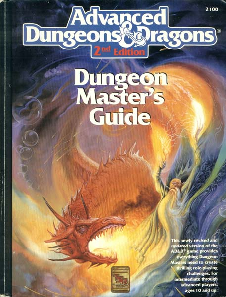 Advanced Dungeons Dragons Archive Dungeon Master S Guide