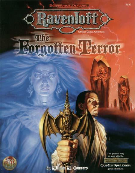 Cover of The Forgotten Terror